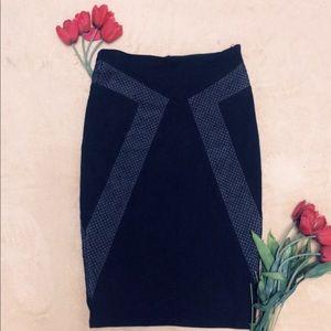 Bebe Midi bodycon Skirt